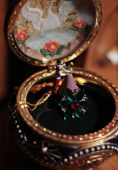 SALES Anastasia Charm Necklace Together In Paris Replica Flower Emerald Romanov Replica Handmade on Etsy, $1.42
