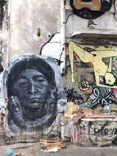 Travel Colombia. Cartagena de Indias Street Art Collection