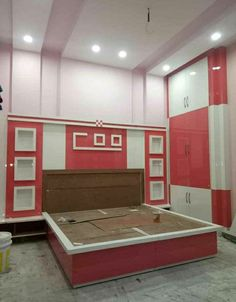 Beautiful Bed Designs, Simple Bed Designs, Double Bed Designs, Tv Unit Furniture Design, Bedroom Furniture Design, Modern Bedroom Design, Bed Back Design, Wood Bed Design, Pooja Room Door Design
