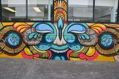 Harrington Lane Street Art Project - Jamin 2012