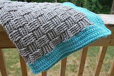 Ravelry: Basket Weave Baby Blanket pattern by Dot Matthews