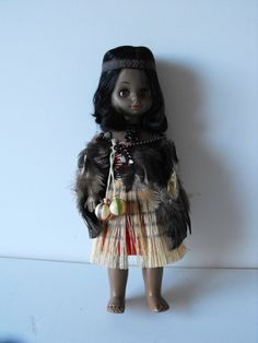 new zealand maori doll 7.5+2. listed