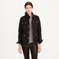 The Downtown Field Jacket from J. Crew @jcrew | 7 Jackets for Fall Weather