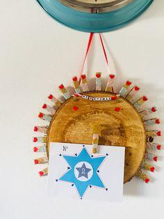 Süßer Adventskalender zum selbstbefüllen mit Fotos, Briefen, Leckereien etc. Viel Spaß !