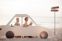 Casamento feito à mão: Um carro para divertir {photo booth}