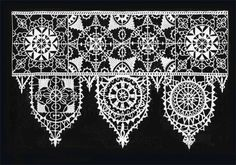 Reticella Lace, from Pattern Book of Cesare Vecellio, publishing 1591