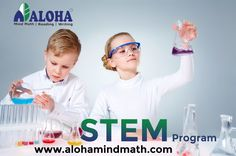AlohaStem program is planned to improve your child's talent in career opportunities and technology projects. JoinALOHA!!