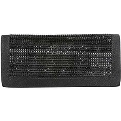Black Shimmery Rhinestone Flap Clutch Bag ($16) ❤ liked on Polyvore featuring bags, handbags, clutches, black, clutch evening, fashion bags, evening clutches, party purses, evening hand bags and evening handbags