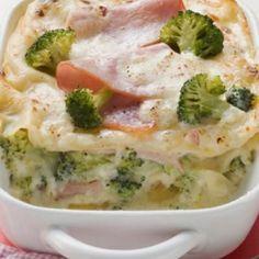 Lasagne met ham en broccoli - Libelle Lekker