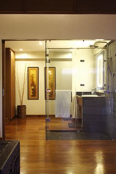 RL Picks: Top 8 Tropical Bathrooms Real Living Philippines Bathroom design by arch. Filipino House, Philippines House Design, Philippine Houses, Tropical Bathroom, Tropical Interior, Bathroom Ceiling Light, Two Storey House, House Smells, Budget Bathroom