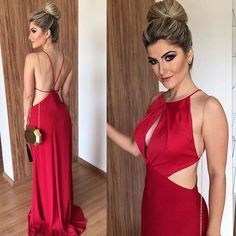 Charming Sexy Backless Long Prom Dresses, Simple Beautiful Spaghetti Straps Long Evening Dress, Shop plus-sized prom dresses for curvy figures and plus-size party dresses. Ball gowns for prom in plus sizes and short plus-sized prom dresses for Gold Prom Dresses, Prom Dresses For Sale, Mermaid Prom Dresses, Bridesmaid Dress, Formal Dresses, Cheap Gowns, Cheap Evening Dresses, Party Gowns, Party Dress