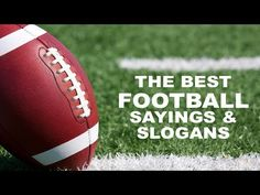 Football Slogans, Sayings and Quotes   Inspiring Phrases http://www.sportsfeelgoodstories.com/sport-quotes/sports-team-slogans/football-team-slogans/