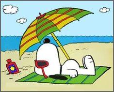 Peanuts ~ Fun in the Sun