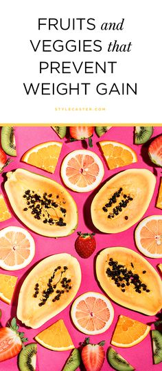 """A new BMJ Health study found that the KEY to weight loss may be """"Flavonoids"""" found in certain fruits and veggies. Here's everything you need to know... @stylecaster"""