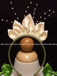 La princesa y el Sapo Pastel inspirado en el vestido de Tiana
