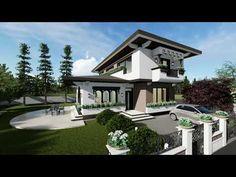 Casa cu etaj 67   Proiecte de case personalizate   Arhitect Gabriel Georgescu & Echipa Design Case, Home Fashion, Mansions, House Styles, Home Decor, House, Decoration Home, Manor Houses, Room Decor