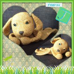 Lappie het hondje. Patroon/Pattern from A la Sascha