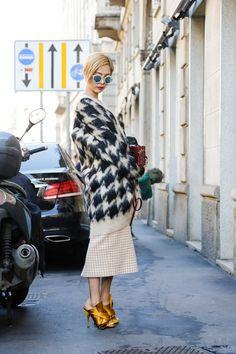 Milan Fashion Week September 2015   Street styles by Team Peter Stigter   #wefashion