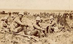 Canadians encamped in South Africa, 1901