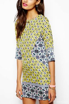 Souped-Up '60s Geos Retail Trend S/S14  This image: Native Rose (as seen on Trendstop.com) #retail #shopping
