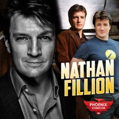 Nathan Fillion will be joining us at Phoenix Comicon 2014! Known for his portrayal of Captain Malcolm Reynolds in Firefly and Serenity, Captain Hammer in Dr. Horrible's Sing Along Blog, and currently starring in ABC's Castle as Richard Castle. Nathan has also appeared as a voice actor in video games including Jade Empire and Halo among many other roles. Nathan is also known for his charitable works including co-founding Kids Need to Read, and for generally being awesome on the internet.