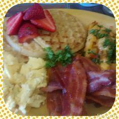 Itz breakfast time  #Yummy #PrettyFood #ImmaFoodie