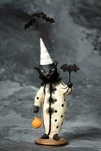 Batty Cat design by Nicol Sayre