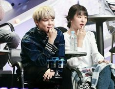 Jimin Seulgi, Kang Seulgi, Bts Girl, Bts Boys, Kpop Couples, Cute Couples, Baby's Day Out, Red Velvet Seulgi, Sweet Couple