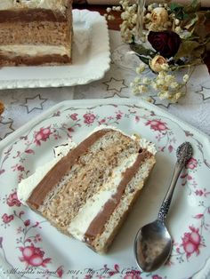 My Magic Cuisine: Torta Čarobnica Torte Recepti, Kolaci I Torte, Bakery Recipes, Cookie Recipes, Torta Recipe, Greek Cookies, Torte Cake, Fancy Desserts, Sweet Cakes