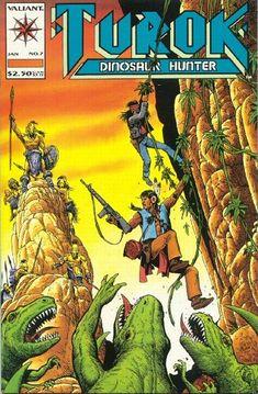 Cover for Turok, Dinosaur Hunter (Acclaim / Valiant, 1993 series) #7