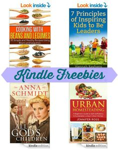 15 Kindle Freebies: Learning Spanish the Novel Way, No Cook Paleo, Urban Homesteading, & More!