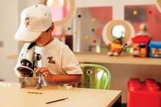 Experience science at the Kids Club at Abama Golf and Spa Resort.