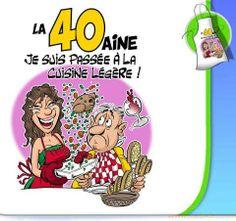 Carte Virtuelle Anniversaire 40 Ans Humour