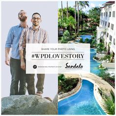 Tag a photo of you and your soon-to-be with #WPDLoveStory for a chance to win a @Sandalsresorts Luxury Included® Caribbean Honeymoon to the all new Sandals Barbados and $1000 to Wedding Paper Divas.