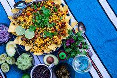 Hellan ja viinilasin välissä: Tex-Mex salaatti bataatista