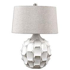 Uttermost 27052 Guerina Scalloped Table Lamp - - Amazon.com