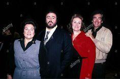 Luciano Pavarotti, Marilyn Horne, Dame Joan Sutherland and Richard Bonynge, 1982!
