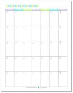 Blank Calendar Print Outs Printable Calendar Template Printable