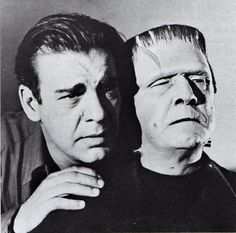 and Bela Lugosi in Frankenstein Meets The Wolfman. Scary Monsters, Famous Monsters, Classic Horror Movies, Horror Films, Horror Icons, Old Movies, Vintage Movies, Frankenstein Film, Hollywood Monsters