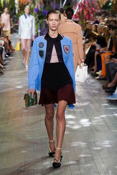 Marine Deleeuw, défilé Christian Dior, prêt-à-porter printemps-été 2014, Paris - 8