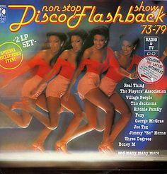 K Tel Records Non Stop Disco Flashback Show
