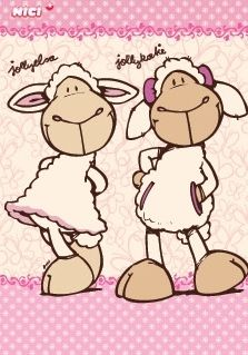 NICI: Jolly Elsa & Jolly Katie:)
