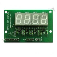 Seven Segment Display Shield @ http://www.roboshop.in/display/seven-segment-display-shield