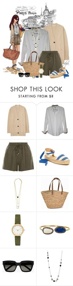 """Paris"" by dgia ❤ liked on Polyvore featuring Uniqlo, Burberry, New Look, Splendid, NLY Accessories, Skagen, Plukka, Yves Saint Laurent and John Hardy"