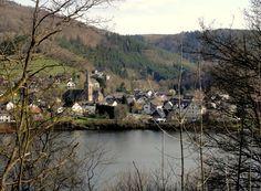 Einruhr village in (Simmerath) the Eifel Region.