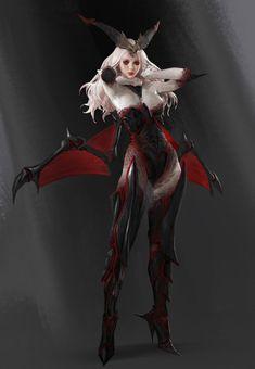 Hunting Era character concept art 2 by Sangsoo Jeong Female Character Design, Character Design Inspiration, Character Concept, Character Art, Concept Art, Game Concept, Dark Fantasy Art, Fantasy Women, Fantasy Girl