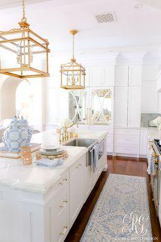 Dream Home Design, My Dream Home, House Design, Diys, White Decor, Decoration, Home Kitchens, Kitchen Remodel, Home Furnishings