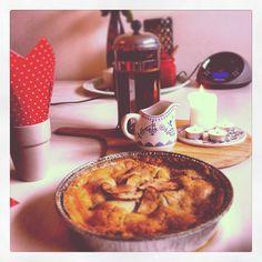 Homemade Apple pie - Breakfast of Americana Champions!