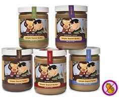 The Best Snacks for Kids with Food Allergies: Simple Food Inc. Soynut Butters (via Parents.com)