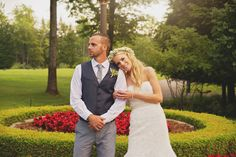 A Simple, Romantic Wedding at Tullymore Golf Resort in Stanwood, Michigan